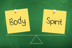 body and spirit sticky notes