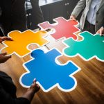 groupthink colored puzzle